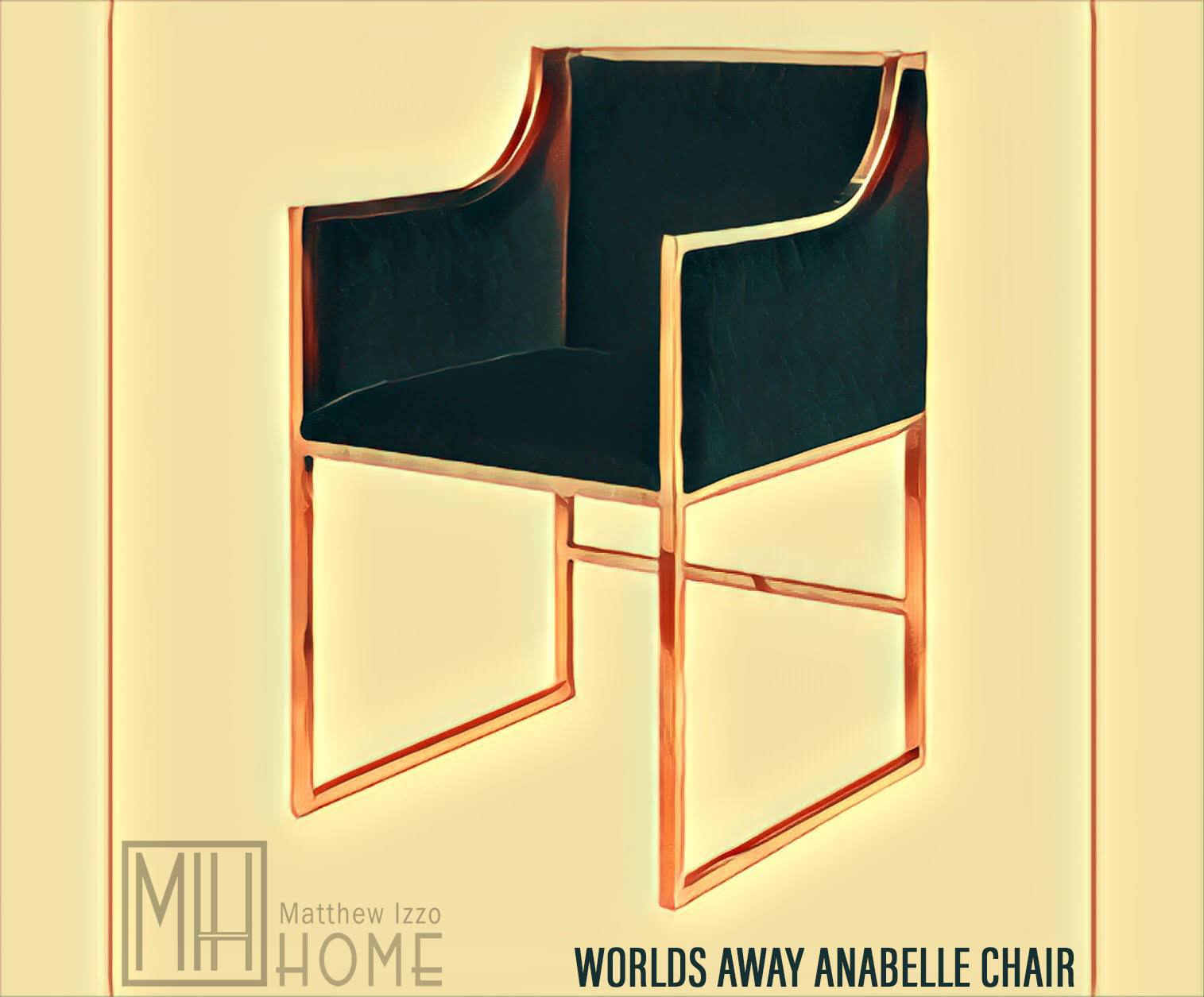 Worlds Away Anabelle Chair