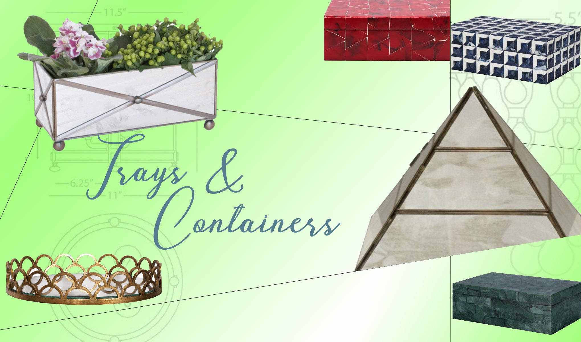 Trays and Containers