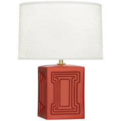Robert Abbey Williamsburg Nottingham Red Accent Lamp