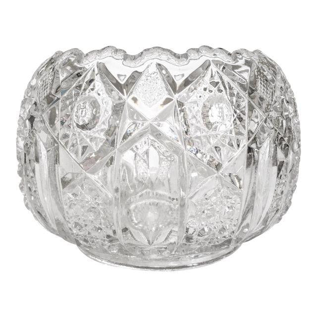 Vintage Semi-Sphere Pressed Glass Bowl - Matthew Izzo Home