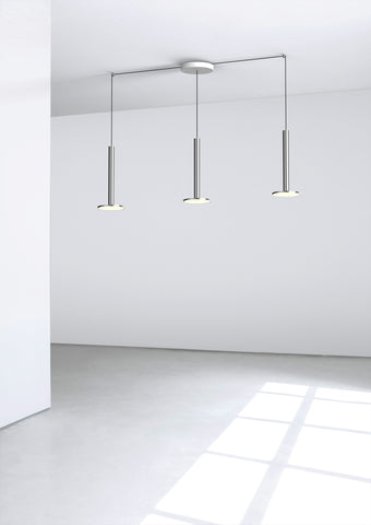 Pablo Designs Cielo XL Multilight Pendant in Polished Aluminum - Matthew Izzo Home