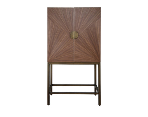 Worlds Away Brielle Bar Cabinet