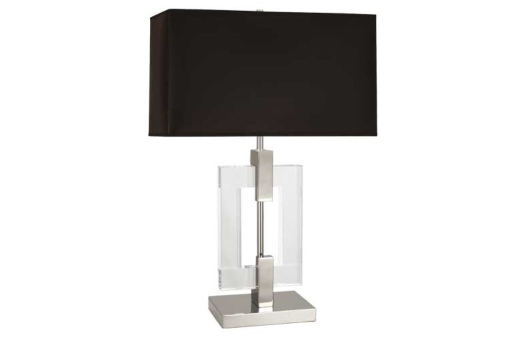 Robert Abbey Lincoln Nickel Table Lamp - Matthew Izzo Home