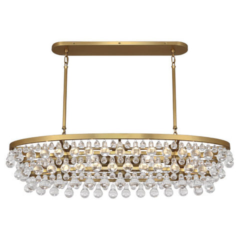 Robert Abbey Bling Oval Chandelier - Matthew Izzo Home