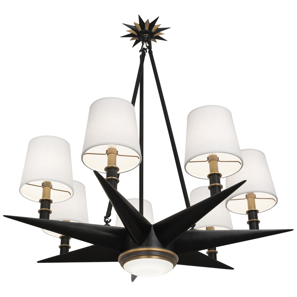 Robert Abbey Cosmos 6 Light Chandelier - Matthew Izzo Home
