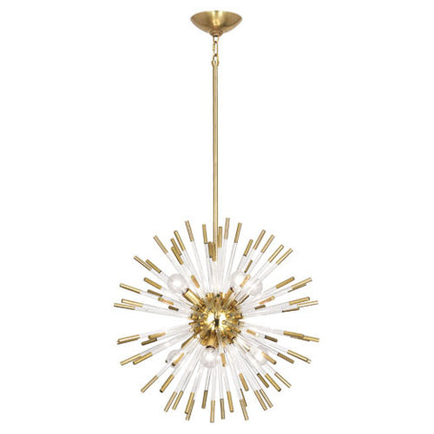 Robert Abbey Andromeda Small Round Pendant - Matthew Izzo Home
