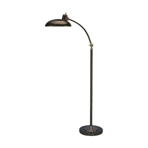 "Robert Abbey Bruno Adjustable ""C"" Arm Task Floor Lamp - Matthew Izzo Home"