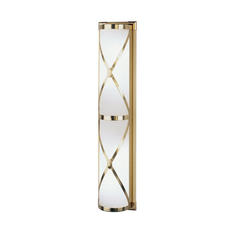 Robert Abbey Chase Double Shaded Bath Strip Sconce