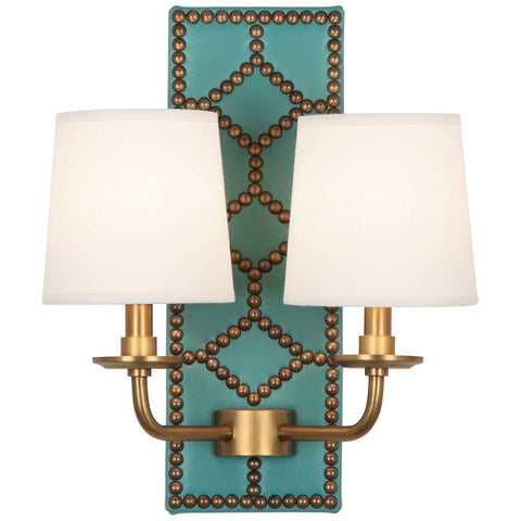 Robert Abbey Williamsburg Lightfoot Double Sconce - Matthew Izzo Home