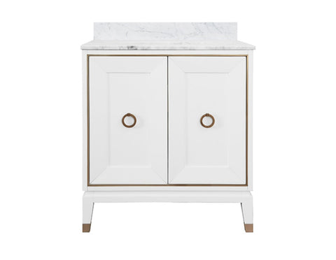 Worlds Away Larson Bath Vanity