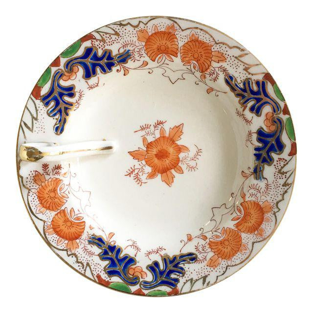 Vintage Hand Painted Candy Dish with Gold Trim - Matthew Izzo Home