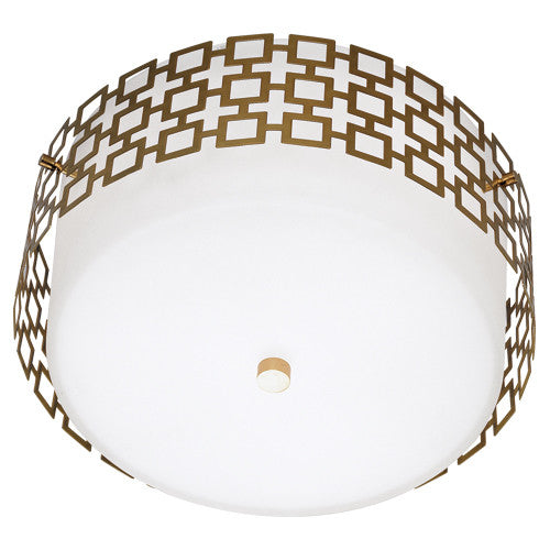 Robert Abbey Jonathan Adler Parker Flush Mount - Matthew Izzo Home