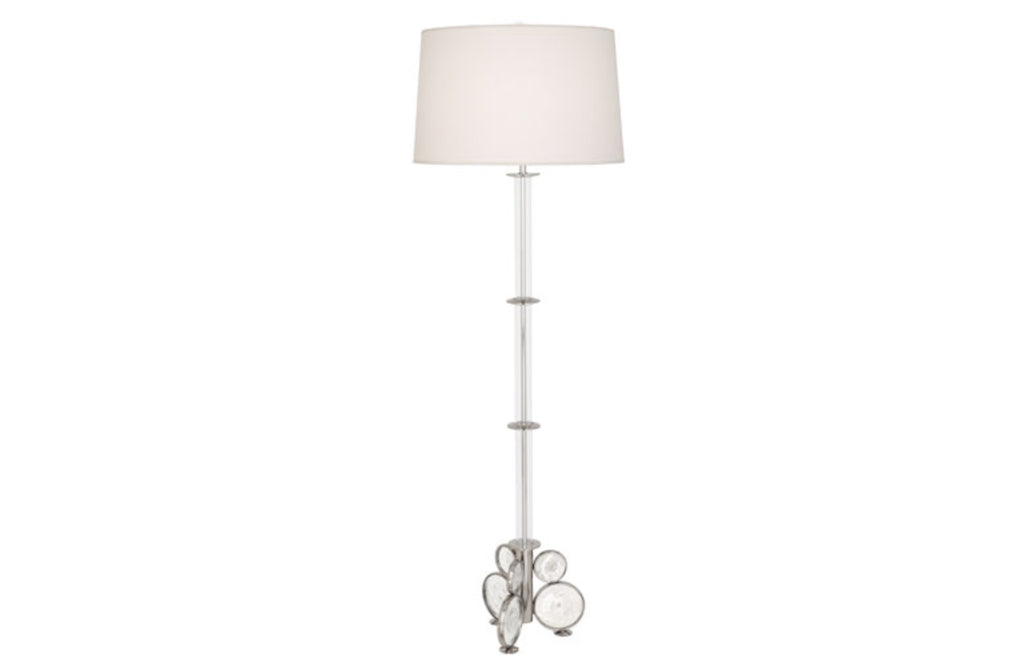 Robert Abbey Atticus Nickel Floor Lamp - Matthew Izzo Home