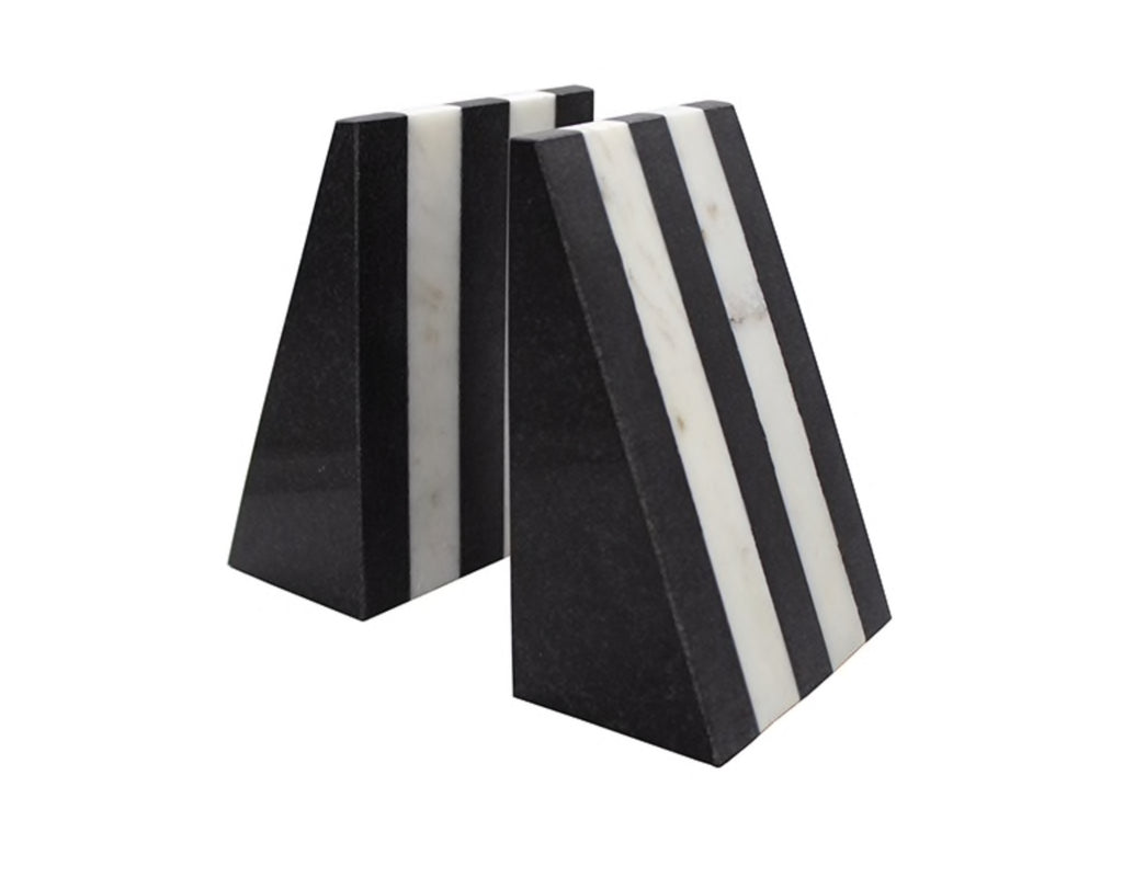 Worlds Away Bert Marble Bookends