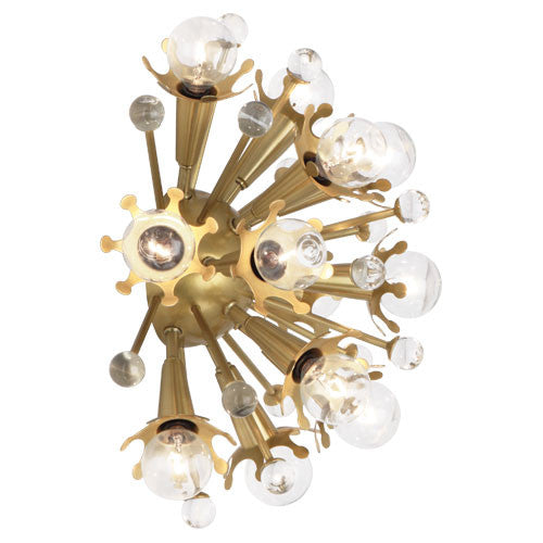 Robert Abbey Jonathan Adler Sputnik Wall Sconce - Matthew Izzo Home