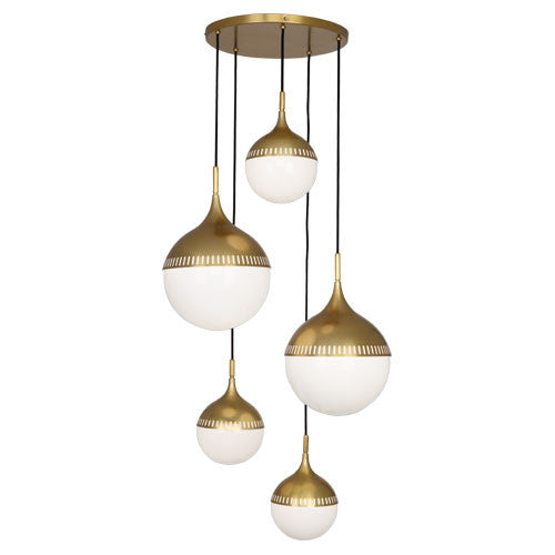 Robert Abbey Jonathan Adler Rio Chandelier - Matthew Izzo Home