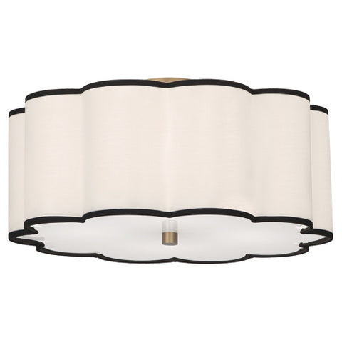 "Robert Abbey Axis 20"" Semi-Flush Mount - Matthew Izzo Home"