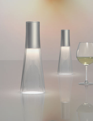 Pablo Designs Candél Clear Portable Table Lamp - Matthew Izzo Home