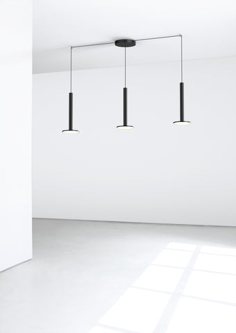 Pablo Designs Cielo XL Multilight Pendant in Black - Matthew Izzo Home