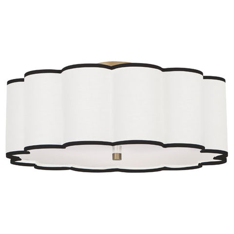 "Robert Abbey Axis 24"" Semi-Flush Mount - Matthew Izzo Home"