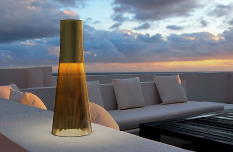 Pablo Designs Candél Bronze Portable Table Lamp - Matthew Izzo Home