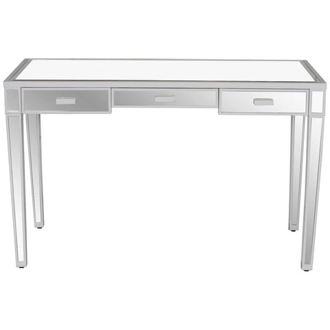 Worlds Away Vivien Mirrored Desk - Matthew Izzo Home