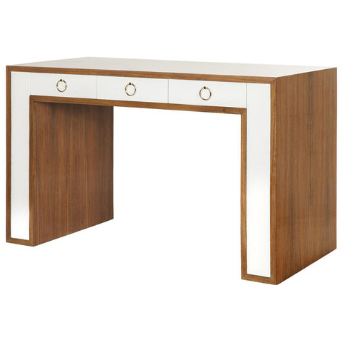 Worlds Away Thomas Rosewood Desk - Matthew Izzo Home