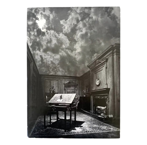 "Jerry Uelsmann ""The Philosopher's Desk"", Signed Print - Matthew Izzo Home"