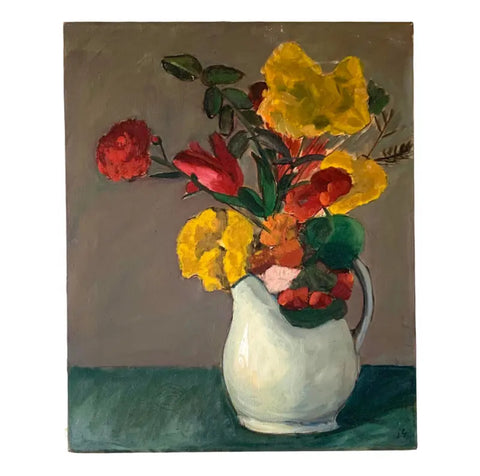 Vintage Still Life Oil Painting - Matthew Izzo Home