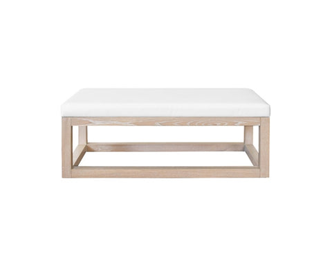 Worlds Away Dunham Rectangular Oak Bench