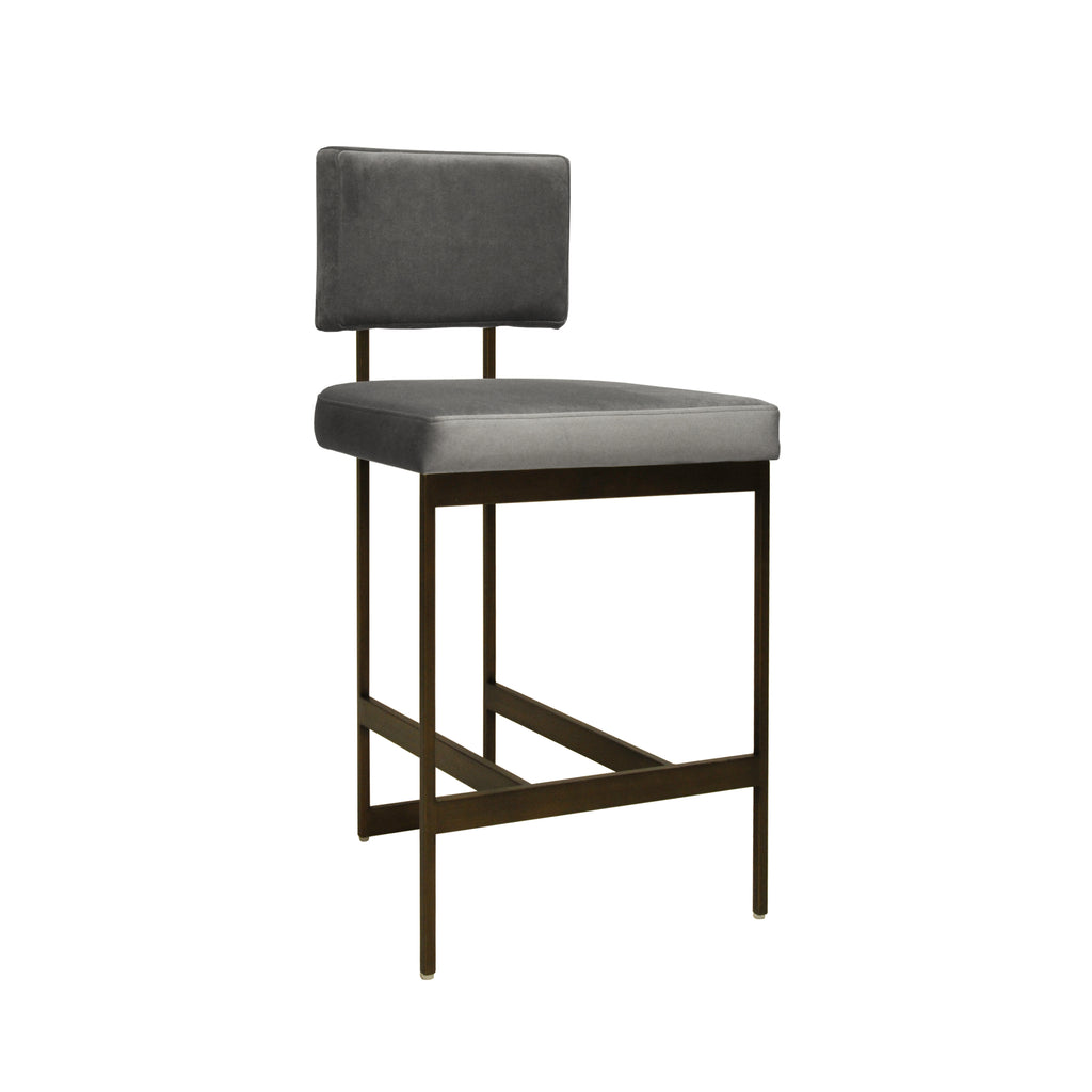 Worlds Away Baylor Counter Stool - Matthew Izzo Home