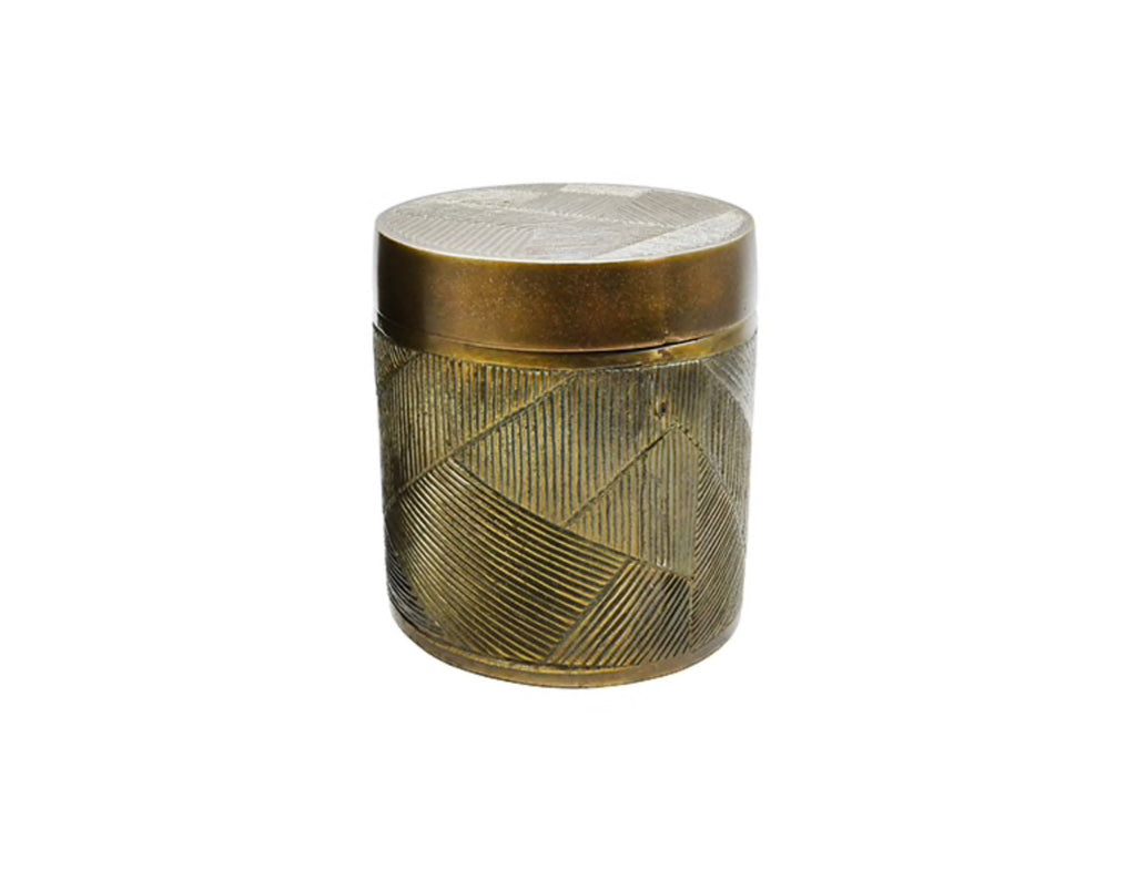 Worlds Away Paco Handcrafted Canister - Matthew Izzo Home
