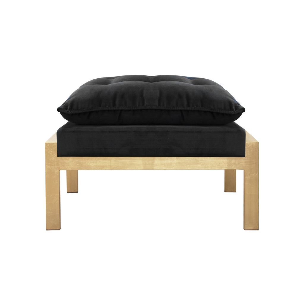 Worlds Away Cameron Contemporary Ottoman - Matthew Izzo Home