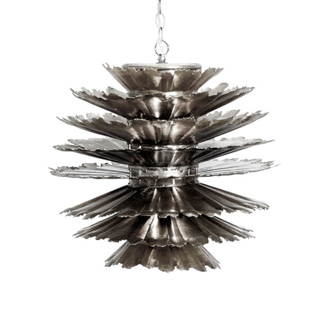 Worlds Away Dante Metal Pendant Light - Matthew Izzo Home