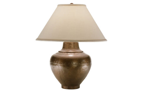 Robert Abbey Foundry Copper Table Lamp - Matthew Izzo Home