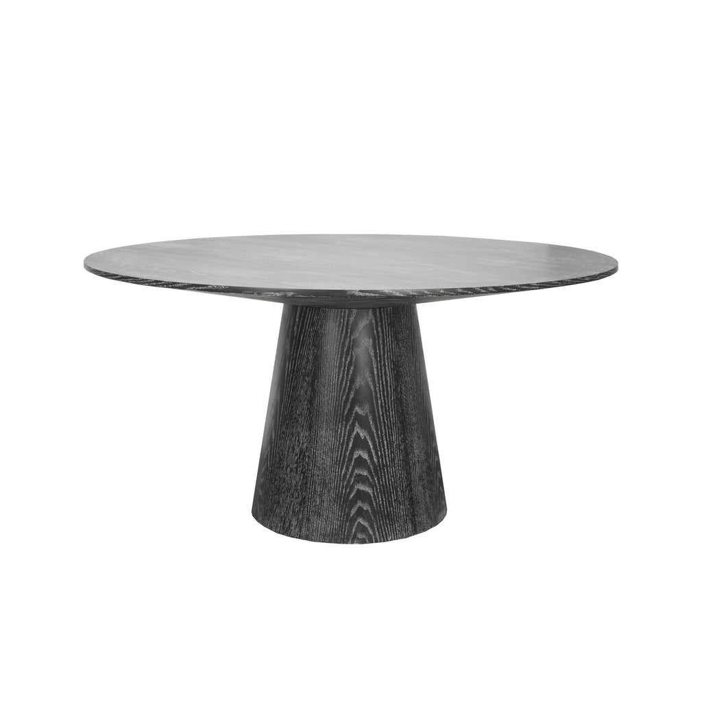 Worlds Away Hamilton Black Dining Table - Matthew Izzo Home