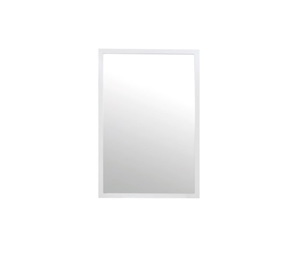 Worlds Away Lexi Matte White Lacquer Full Length Mirror - Matthew Izzo Home