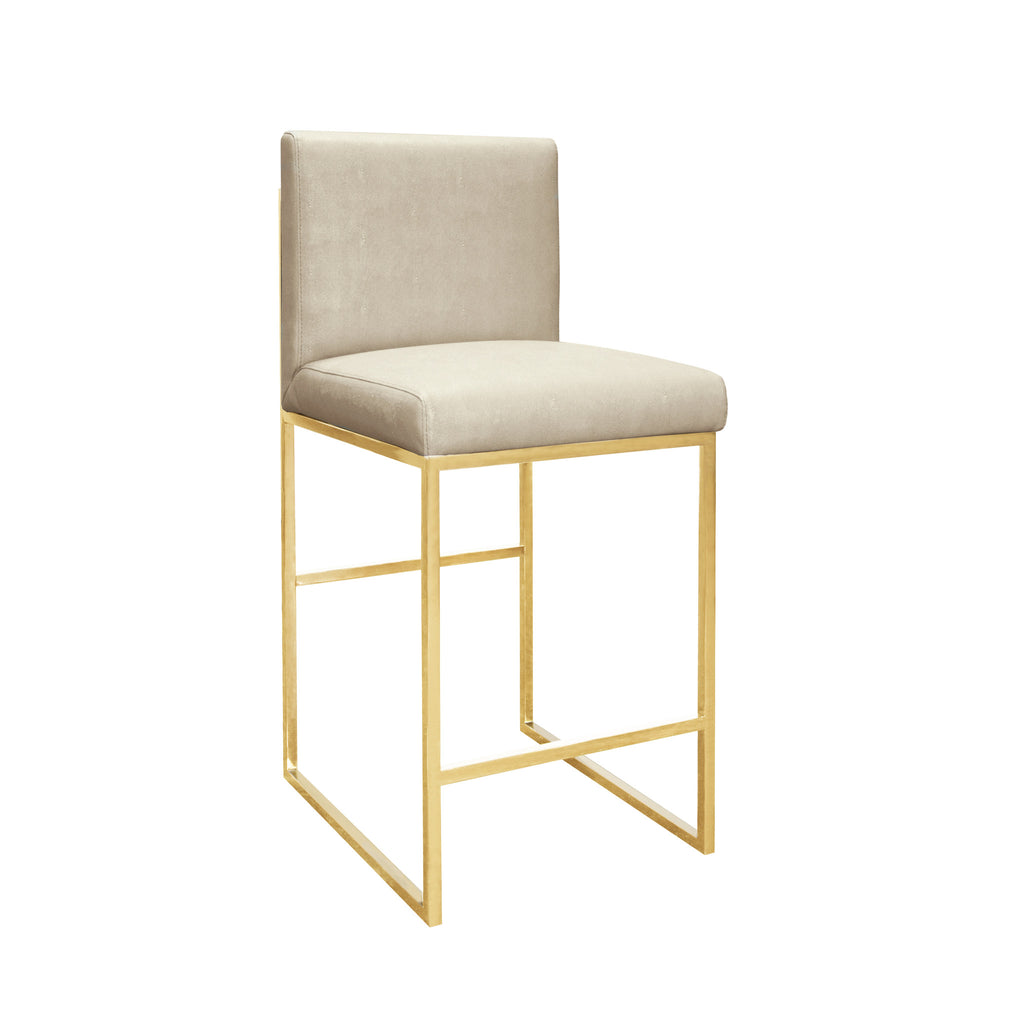 Worlds Away Kingston Counter Stool - Matthew Izzo Home