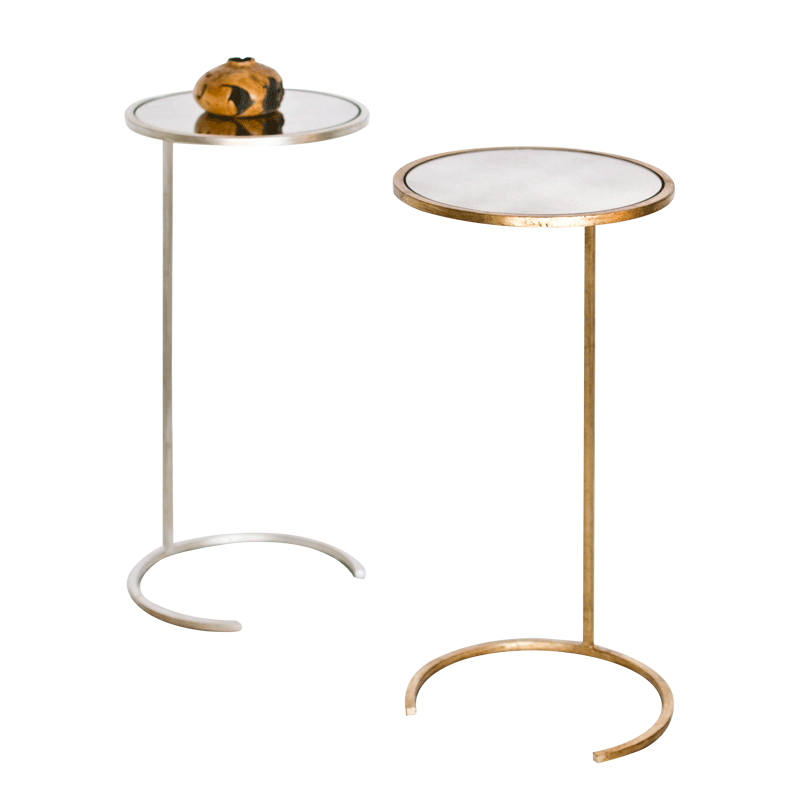 Worlds Away Monaco Round Cigar Table - Matthew Izzo Home