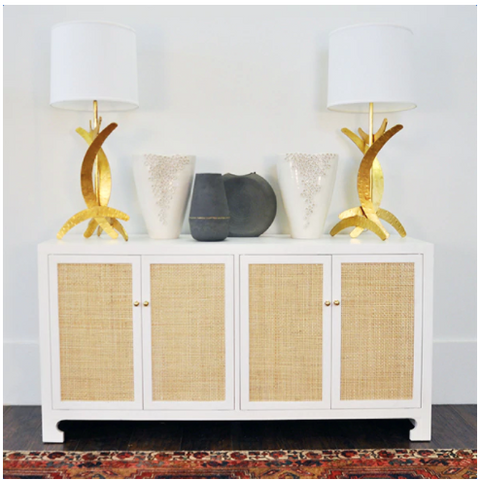 Worlds Away Sofia Cabinet - Matthew Izzo Home
