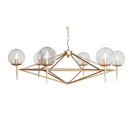 Worlds Away Rowan Chandelier - Matthew Izzo Home