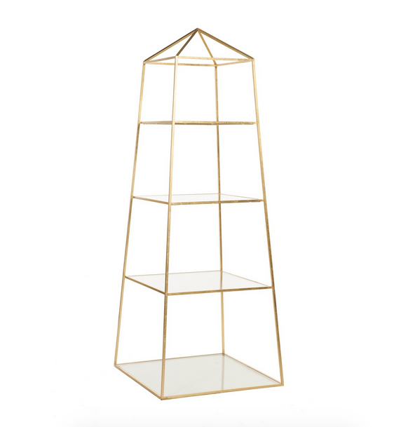 Worlds Away Piper Etagere - Matthew Izzo Home