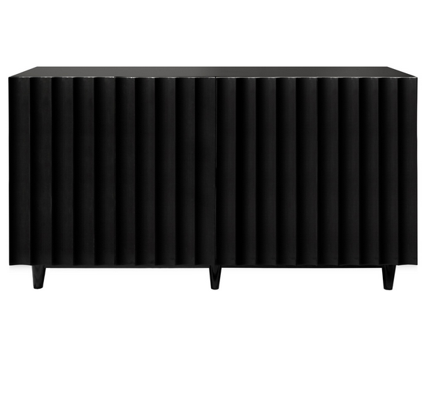 Worlds Away Odette Lacquered Console Cabinet - Matthew Izzo Home