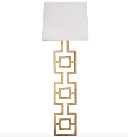 Worlds Away Lauren Wall Sconce