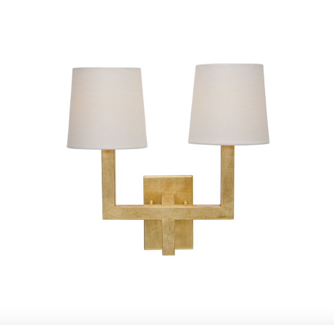 Worlds Away Kennedy Wall Sconce - Matthew Izzo Home
