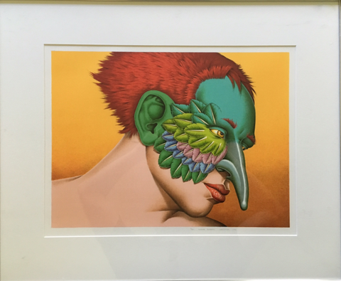 Robert Lostutter, Signed Super Sunbird Lithograph 1991 - Matthew Izzo Home