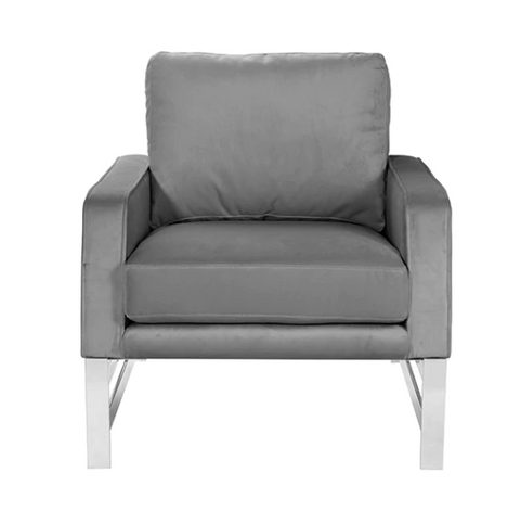 Worlds Away Toby Square Modern Lounge Chair - Matthew Izzo Home