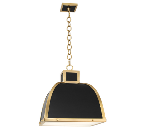 Robert Abbey Ranger Hood Style Pendant Light - Matthew Izzo Home