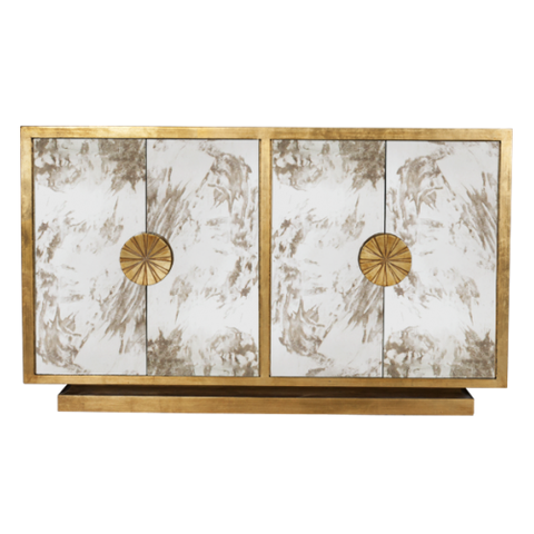 Worlds Away Calypso Modern Cabinets - Matthew Izzo Home