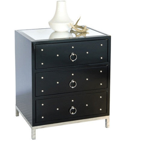 Worlds Away Studly Nightstand - Matthew Izzo Home